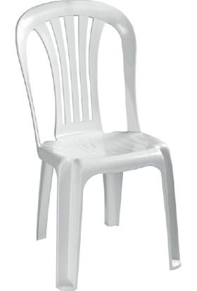 Comfort Balkon Mutfak Bahçe Sandalyesi Leke Yapmaz Kırılmaz