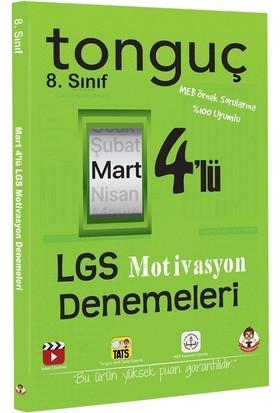 Tonguç Akademi 8.Sınıf Lgs Motivasyon 4 Lü Denemeleri