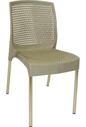 Mandella Rattan Balkon Bahçe Ve Mutfak Sandalyesi