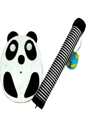 Mihav Pet Sevimli Panda Tırmalama Tablası 50 cm