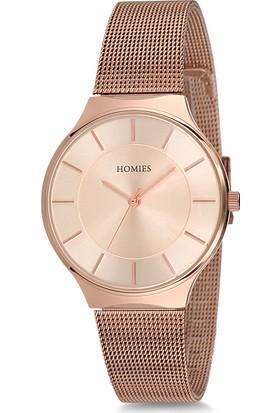 Homies HM15884S01-RG Kadın Kol Saati