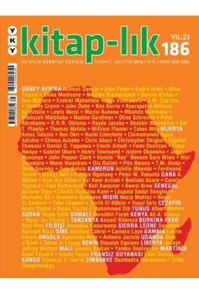 Kitap-lık Sayı: 186 / Temmuz - Ağustos 2016