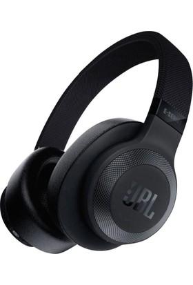 JBL E65BTNC Aktif Gürültü Önleyici Mikrofonlu Kablosuz Kulaklık Siyah
