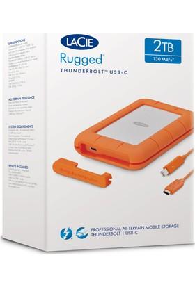 Lacie 2Tb 2.5 Inc STFS2000800 Rugged Thunderbolt & Usb 3.1 Taşınabilir Disk