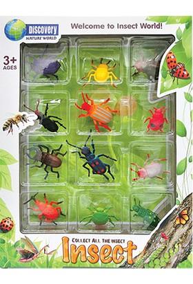 Simba Beetle Insect World Böcekler Serisi 12'li Set C