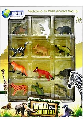 Simba Wild Animal World Vahşi Hayvanlar 12'li Set