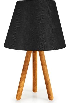 D-Light Tripod Masa Lambası Siyah