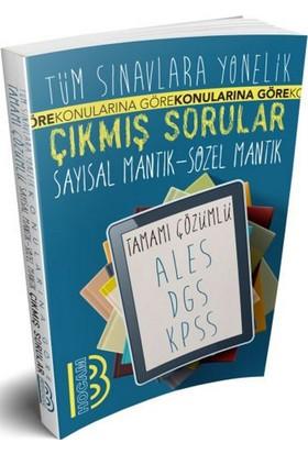 Benim Hocam Yayınları Tüm Sınavlara Yönelik Tamamı Çözümlü Sayısal Mantık - Sözel Mantık Çıkmış Sorular