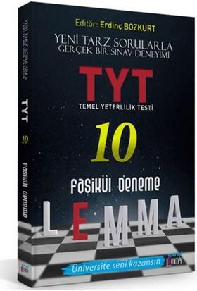Yargı Lemma Yayınları TYT 10 Fasikül Deneme
