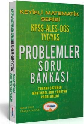 Yediiklim Yayınevi Keyifli Matematik Serisi Kpss Ales Dgs Tyt/Yks Tamamı Çözümlü Proplemler Soru Bankası