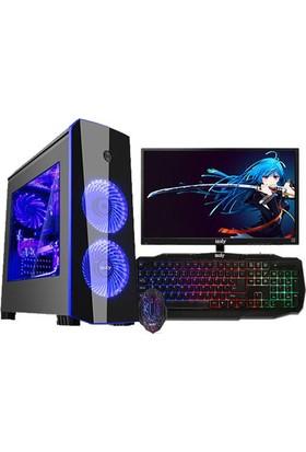 "Izoly K206 Intel Core i5 650 8GB 500GB GT730 Freedos 22"" Masaüstü Bilgisayar"
