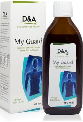 Doğal Ambar My Guard Kekik ve Zencefil Ekstresi İçeren Bitkisel Şurup 150 ml