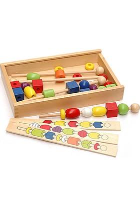 Akay Bak Ve Diz Ahşap Eğitici Oyun