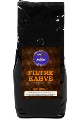 Sedirkent Sade Filtre Kahve 1000 gr Yumuşak Kahve Keyfi
