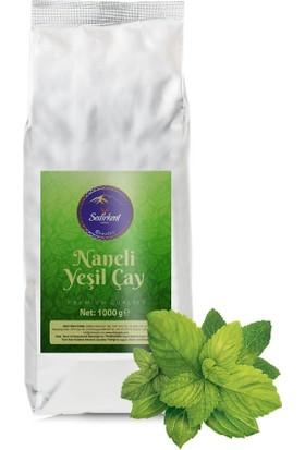 Sedirkent Naneli Yeşil Çay 1000 gr %100 Gerçek Nane ve Yeşil Çay