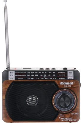 Kamal Km 613 Mp3 Çalarlı Fm Radyo