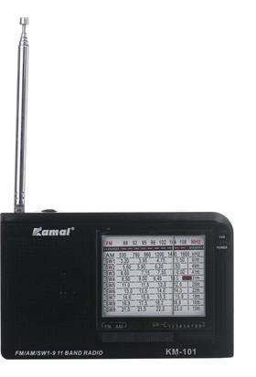 Kamal Km 101 Fm 11 Band Radyo