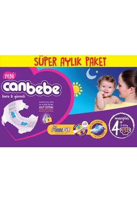 Canbebe Bebek Bezi Online Özel Paket 4+ Beden 132 Adet