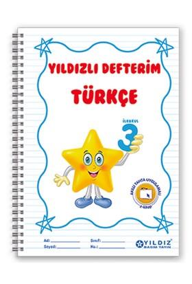 Yıldız Yayınları Yıldızlı Defterim Türkçe 3. Sınıf