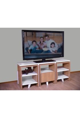 Hepsiburada Home Zigon Sehpalı Tv Ünitesi - Tv Sehpası