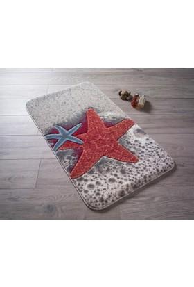 Confetti Starfısh 50X57 Kırmızı Oymalı Halı