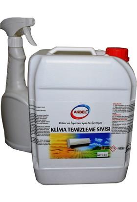 Akbel Klima Temizleme Sıvısı (Direk Kullanım) 5 Kg+Uygulama Spreyi