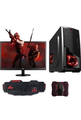 "Avantron AMD2201 AMD Ryzen 3 2200G 8GB 1TB GTX1050Ti Freedos 22"" Masaüstü Bilgisayar"