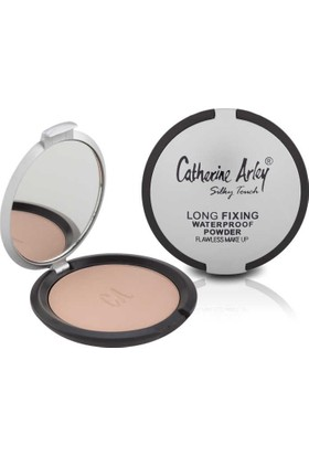 Long Fixing Waterproof Powder Flawless Make Up (Suya Dayanıklı Pudra) - 2041/01 - Catherine Arley