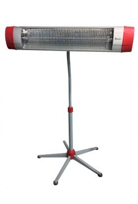Dodici 1500 watt İnfrared Isıtıcı Çift Borulu + Ayak