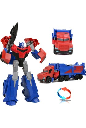 Transformers T-Warrior Metal Gövde Optimus Prime Robot Araba