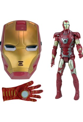 Heroes Kahramanlar İttifakı Iron Man Demir Adam Maskeli Oyuncak Seti