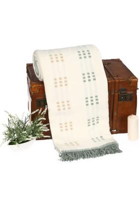 Battaniye Pamuk 130X170 Su Yeşil