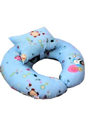 Baskaya Emzirme Destek Yastığı Bebek Oturma Minderi Ana Kucağı