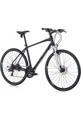 Carraro Sportıve 223 Erkek Şehir Bisikleti 508H 28 21V Hd Mat Siyah-Gri-Kırmızı