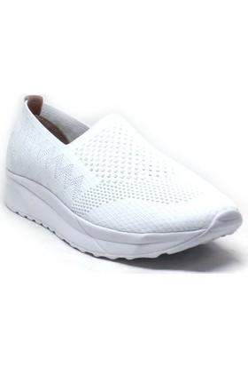 197-T2 Kadın Ayakkabı Beyaz
