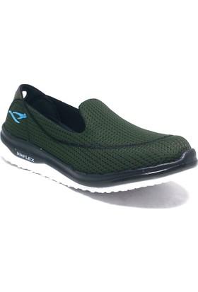 155-254201 Kadın Ayakkabı Yeşil