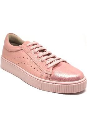155-7010 Kadın Sneaker Pudra