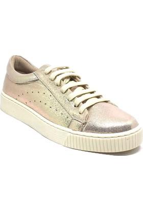 155-7010 Kadın Sneaker Altın