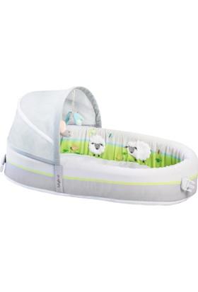 LulyBoo Amerika'dan İthal Taşınabilir Bebek Yatağı Premium- Lamb - Kuzu