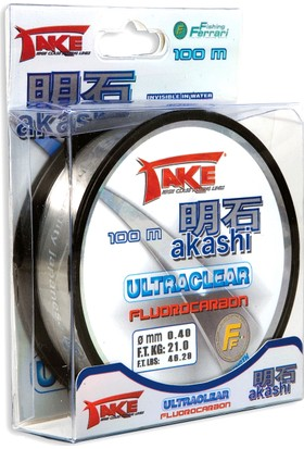 Lineaeffe Akashi Ultra Fuoro Carbon 100Mt
