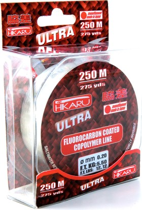 Lineaeffe Hikaru Ultra Floro Carbon 250mt