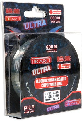 Lineaeffe Hikaru Ultra Floro Carbon 600mt