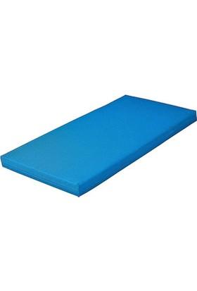 Mobilyapı mavi Jimnastik Minderi 60X120X5Cm Yumuşak Sünger