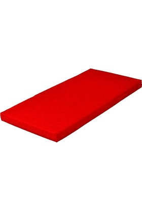 Mobilyapı kırmızı Jimnastik Yer Minderi 60X120X5 Cm Yumuşak Sünger