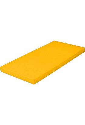 Mobilyapı sarı Jimnastik Minderi 60X120X5 Cm Sert Sünger