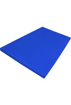 Mobilyapı mavi Jimnastik Minderi Polyester 100X200X5 Cm Yumuşak Sünger