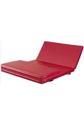 Mobilyapı kırmızı Katlanir Jimnastik Minderi 100X200X5 Cm Yumuşak Sünger