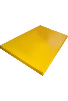 Mobilyapı sarı Jimnastik Minderi 100X200X5 Cm Sert Sünger