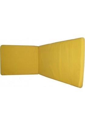 Mobilyapı sarı İmperteks Kumaş Sezlong Minderi
