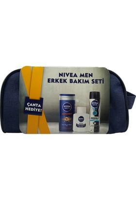 Nivea Men Erkek Bakım Seti + Çanta